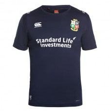 British Irish Lions Blue Vapodri T-Shirt